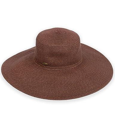 ce5c14cfc7a68 Sun N  Sand Shoreline Hues Packable Hat (Brown) at Amazon Women s ...