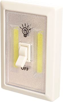 Closets Pack of 2 Shelf RVs Baby Nursery Promier Battery Operated Cordless LED Light Switch Bedrooms Batteries Included! Under Cabinet Hallways