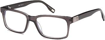 0f2b2089bbba Mens Strong Square Glasses Frames Prescription Eyeglasses Rxable  55-18-145-37