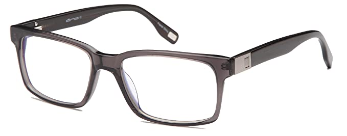 1a57650592 Mens Strong Glasses Frames Prescription Eyeglasses Rxable 55-18-145-37 in  Gunmetal
