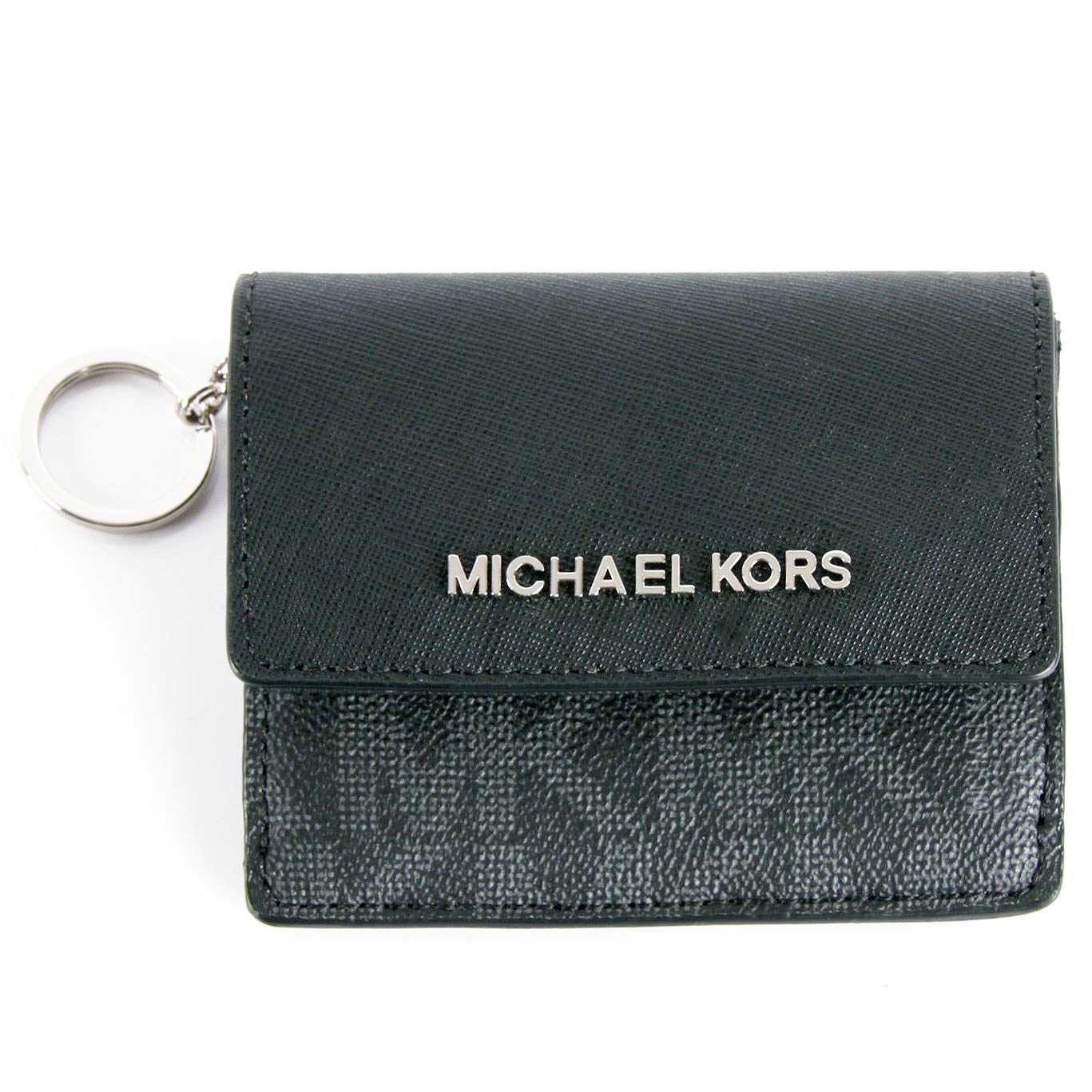002b905f9d81 Top3: Michael Kors Jet Travel Credit Card Case ID Wallet with Key Ring