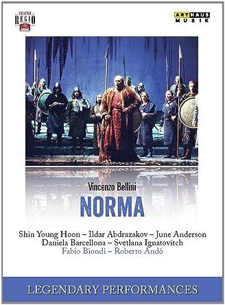 Bellini Nürnberg bellini norma various fabio biondi arthaus dvd amazon co uk