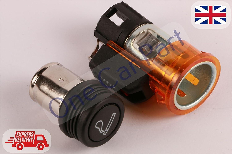 New 12V Orange Cigarette Lighter for Bravo Brava Grande Punto Doblo Stilo:  Amazon.co.uk: Car & Motorbike