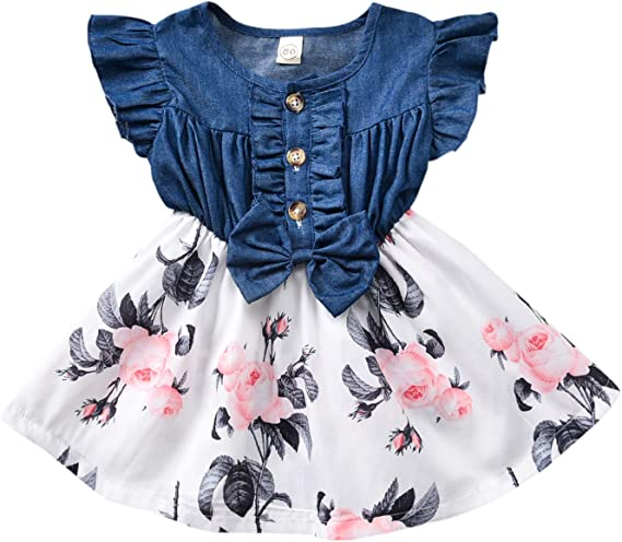 Sweet Little Princess Lace Romper Dress Summer Clothes For Toddler Baby Girl Kid