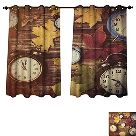 Amazon.com: Fall Blackout Thermal Curtain Panel Different ...