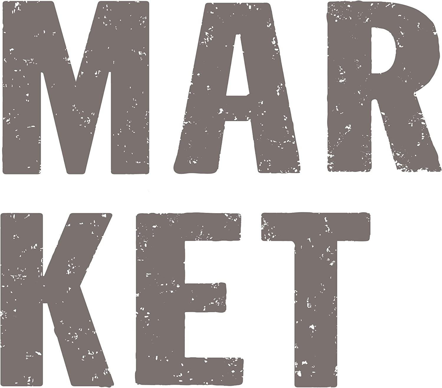 Prima Marketing Market Redesign Transfer, Charcoal