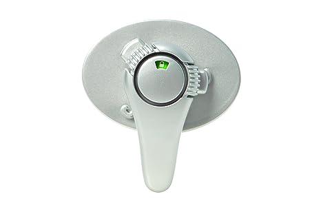 DreamBaby Style G1004, Cerradura de la puerta de la estufa, Plateado
