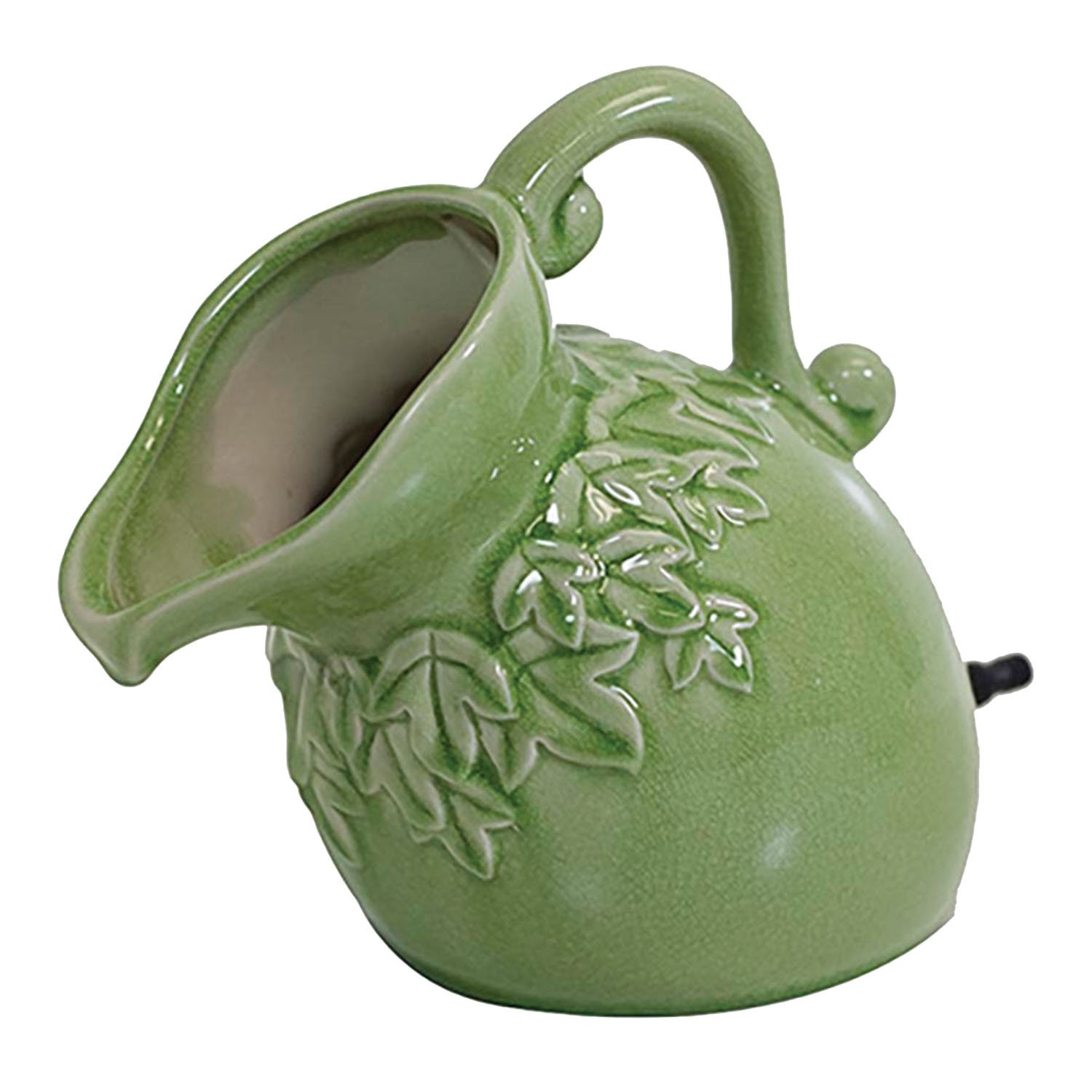 pond boss SPPS Ceramic Pouring Pitcher Spitter, Sage
