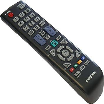Samsung IR Remote Control Mando a distancia BN59 – 01005 A – plasma, LCD, TV, HiFi, SAT nuevo – Original Negro para mando a distancia: Amazon.es: Electrónica