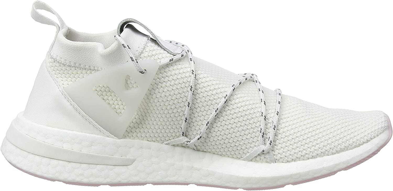 Adidas Arkyn Knit W fitnessschoenen voor dames, noir/gris carbon/roos clair Bianco (Crystal White/Ftwr White/Clear Pink Crystal White/Ftwr White/Clear Pink)