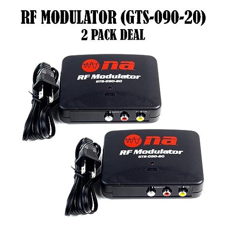 Amazon RF Modulator Universal AV Audio Video Signal Input