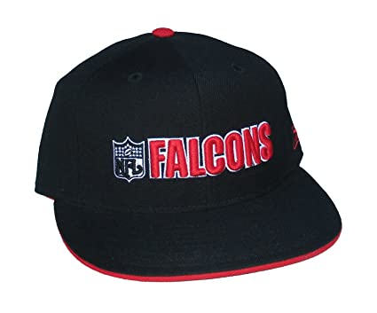 012b9fb00 Image Unavailable. Image not available for. Color: Reebok Atlanta Falcons  NFL Shield Logo Fitted Size 7 1/8 ...
