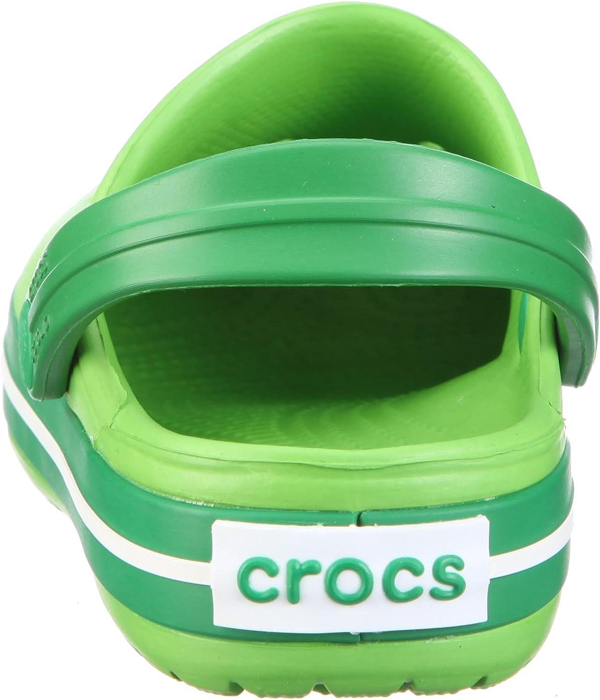 34//35 EU Rosso Rojo crocs Crocband Kids Zuecos Unisex Ni/ños