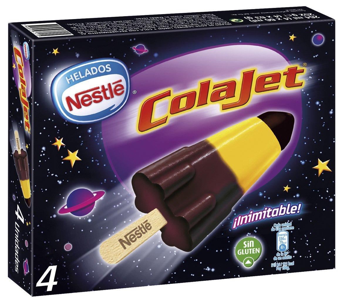 Nestlé Helado Colajet de Limón y Cola - Paquete de 4 x ...