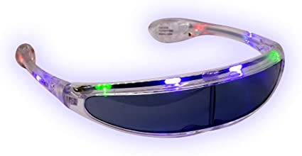 Blinking LED Light Flashing Glasses for Amusement Park Party