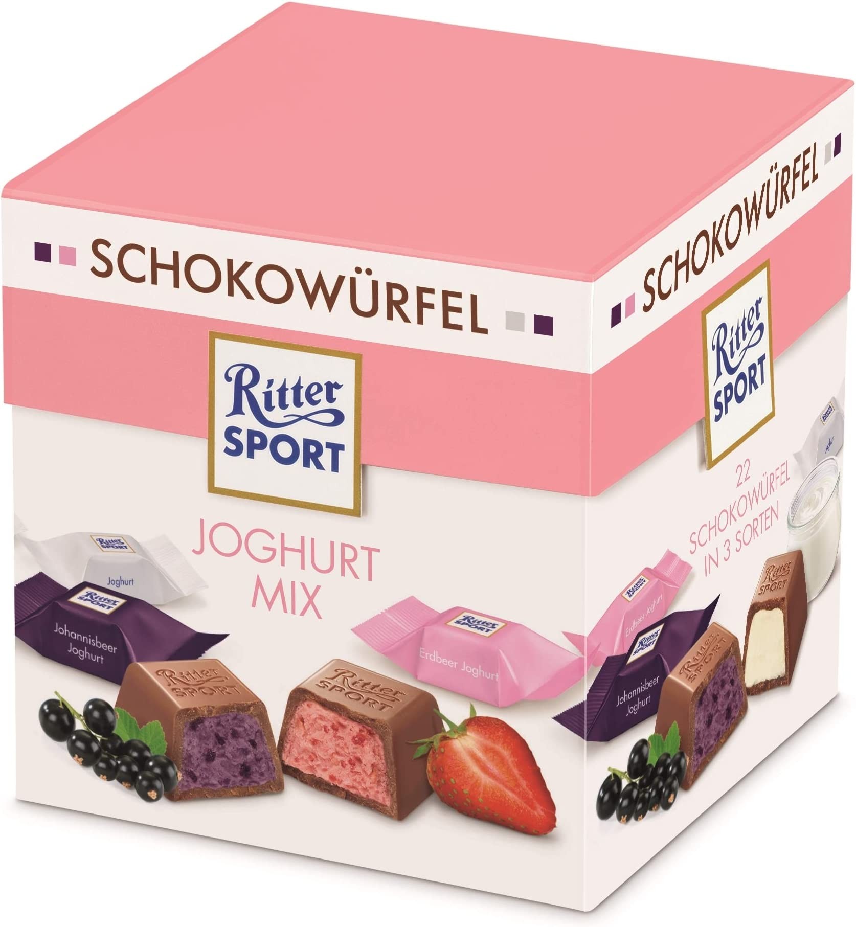 Ritter Sport Cube Yoghurt Chocolate 176 Gm Price In Uae Amazon Uae Kanbkam