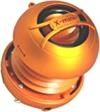 X-Mini UNO XAM14-OR Portable Capsule Speaker, Mono, Orange