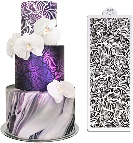 Amazon.com: 15.35 × 5.98inches Abstract Leaf Art Decoración ...