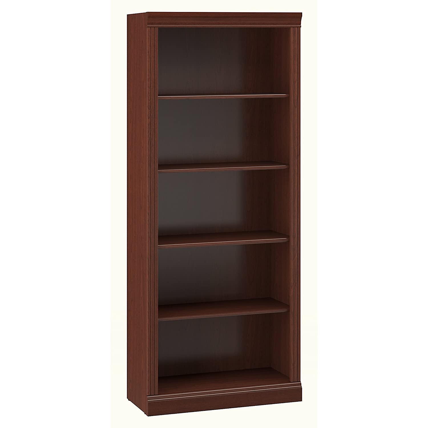 Saratoga Executive 5 Shelf Bookcase Bush Furniture W1615C-03