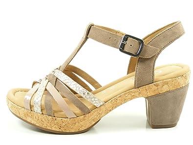 Gabor 62 736 Schuhe Damen Lack Sandalen Plateau Sandaletten Weite G