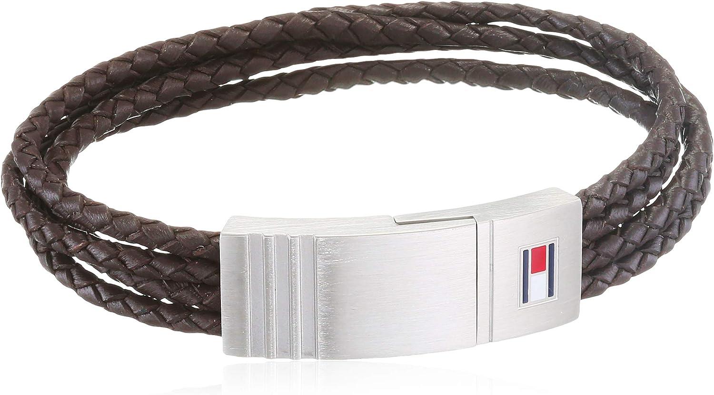 Tommy Hilfiger Jewelry Hombre Sin Metal Tira de Pulseras 2701008