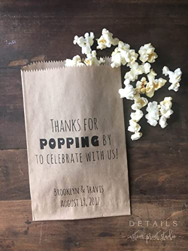 Amazon Wedding Favor Bags Popcorn Bar Snack Bags Thanks For