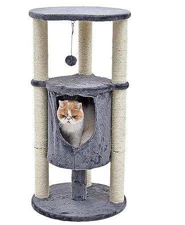 Amazon.com: Único Sisal árbol de gato mascota ventana lujo ...