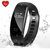 Fitness Tracker,Letufit Heart Rate Activity Tracker Smart Bracelet with Sleep Monitor,Pedometer for iOS & Android