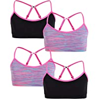 Rene Rofe Girl Seamless Training Bra with Removable Pads (4 Pack)