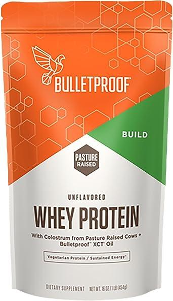 Bulletproof La proteína de suero de leche en polvo, aceite ...