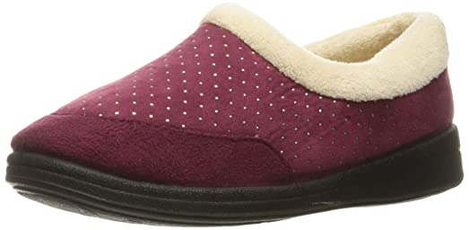 Foamtreads Women's Keira Burgundy 5 B - Medium