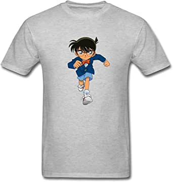 Men's Detective Conan T-Shirt S ColorName Short Sleeve