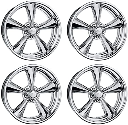 Amazon Com New Billet Specialties Mag Polished Aluminum Wheel Set
