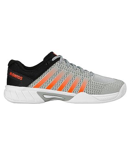 cozy fresh 4ea21 19a6f K-Swiss , Chaussures spécial tennis pour homme gris Highrise Black Neon  Blaze