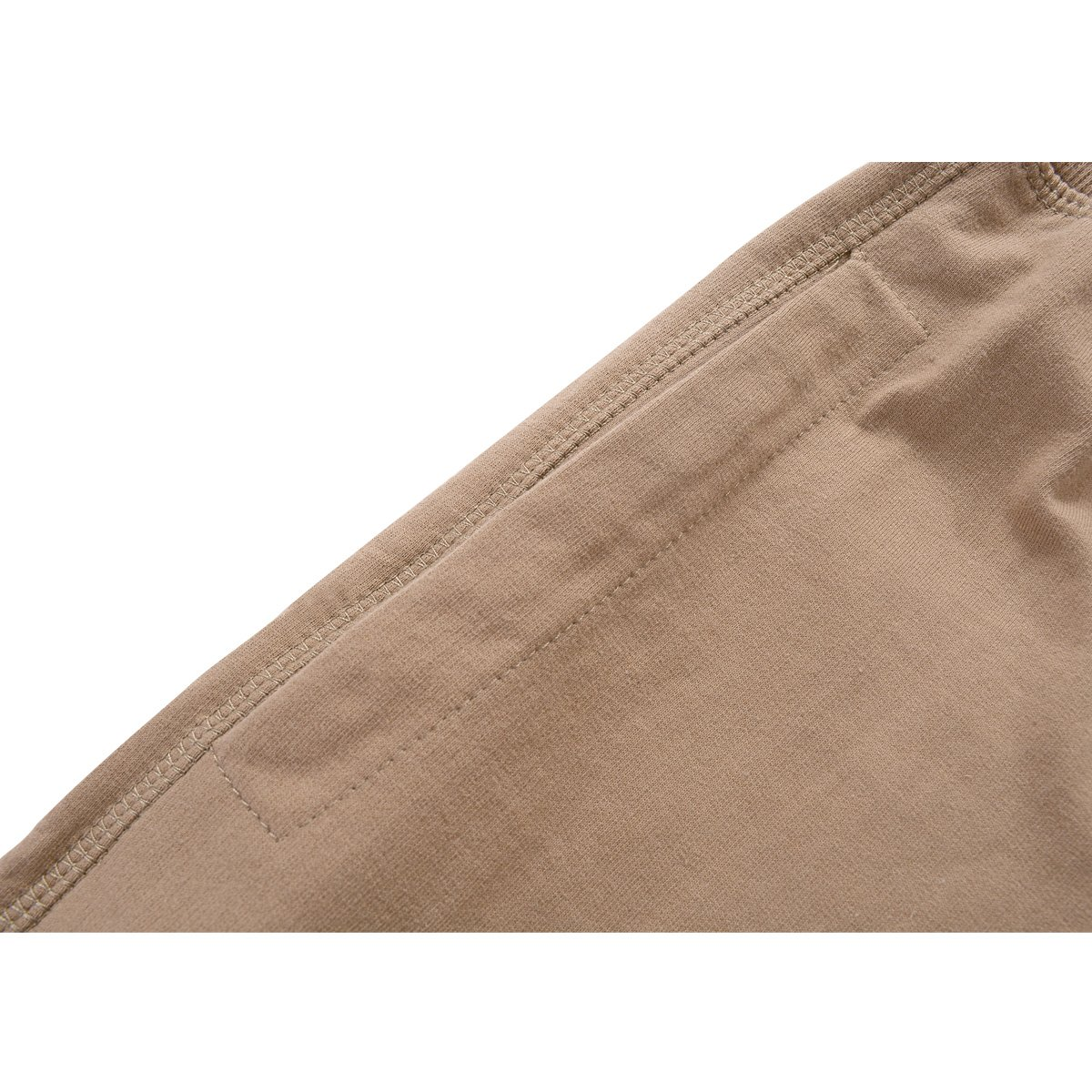 Amy Coulee Men's Cotton Casual Short with Pockets (S, Brown) by Amy Coulee (Image #7)