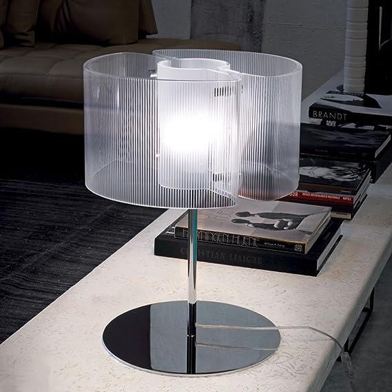 Vistosi Lámpara de mesa Chimera 09 LT – Cristal Redondo: Amazon.es ...