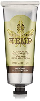 The Body Shop Hand Protector, Hemp, 3.3 Fluid Ounces