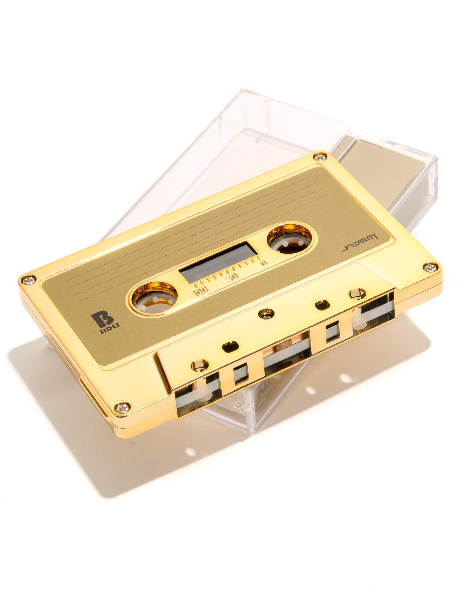 FYDELITY Blank Cassette Mixed Tape C-60 Audio 60-Min 10 Pack: Gold Chrome