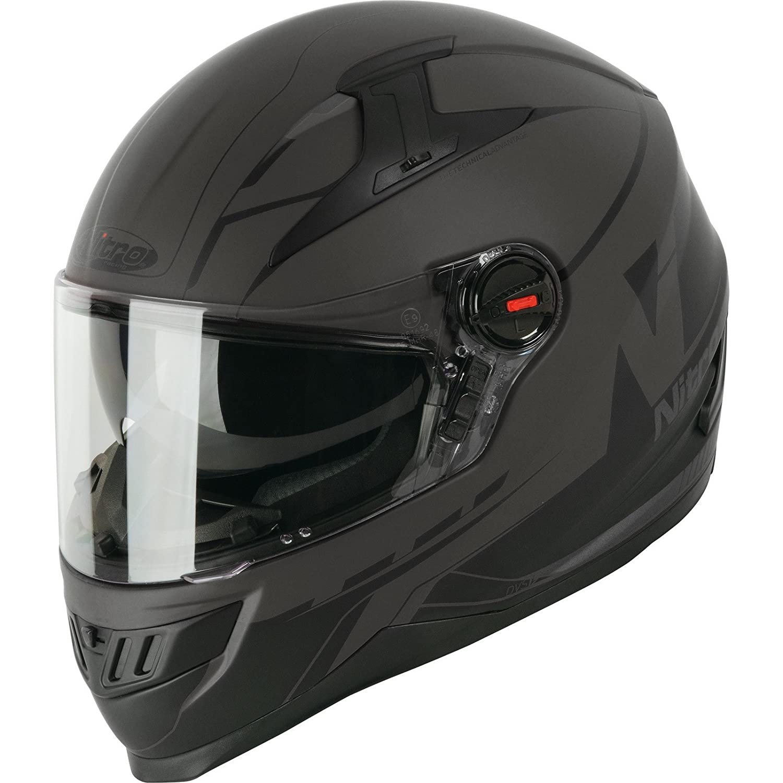Nitro N2200 analógica DVS casco de moto: Amazon.es: Deportes y aire libre
