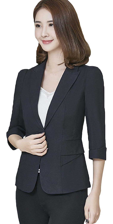 f87c8b08b118 La Vogue-Balzer Slim Donna Primavera Formale Giacca Femminili Cappotto:  Amazon.it: Abbigliamento