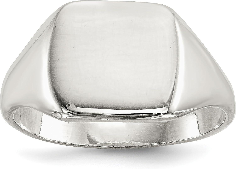 Sterling Silver Signet Ring Sz 10