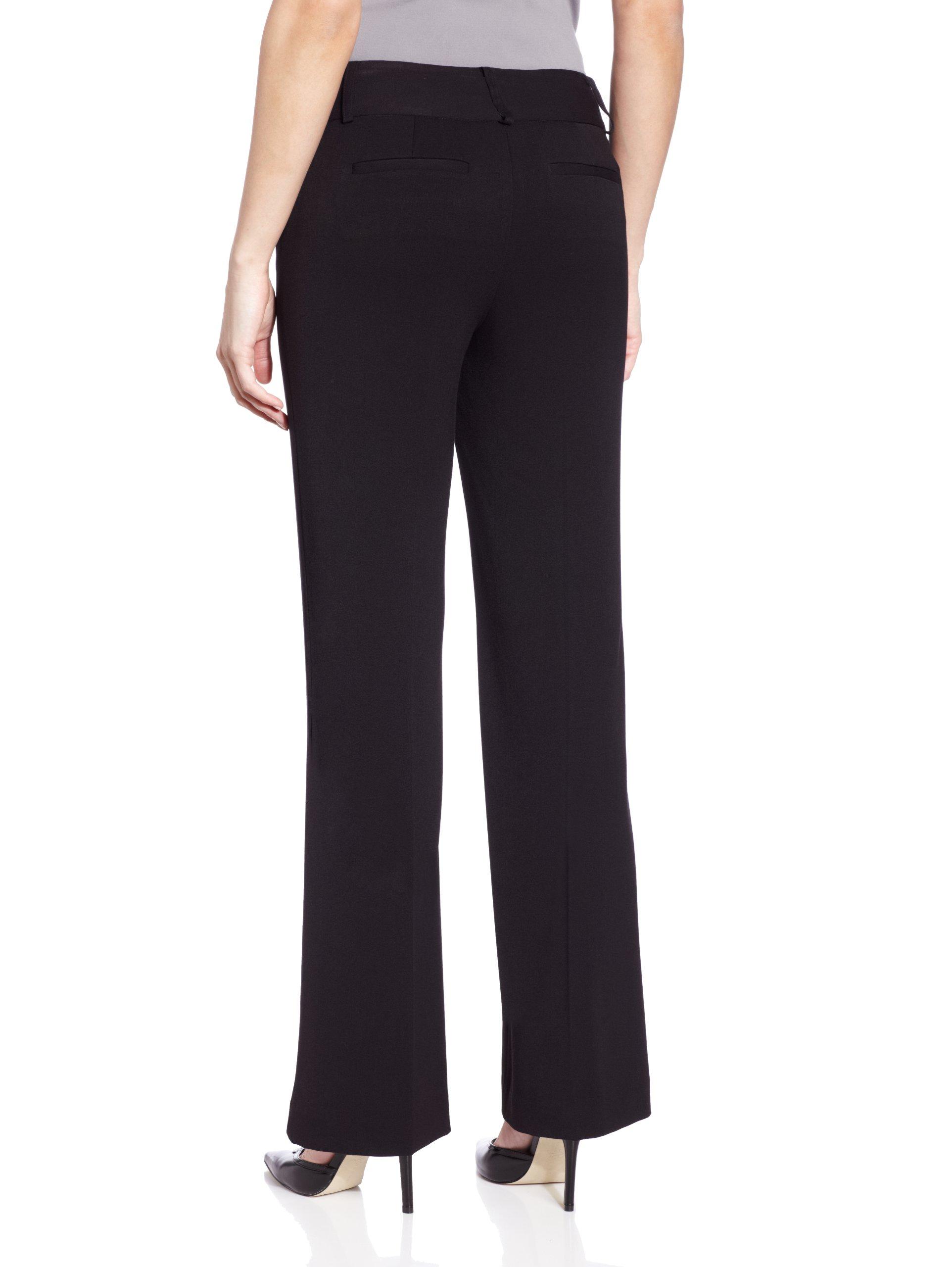 Rafaella Women's Curvy Fit Pant, Black, 14 by Rafaella (Image #2)