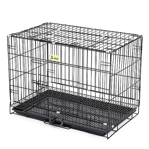 AIAIⓇ Jaula para Cachorro de Perro, Grande, Larga, 90 cm, Caja ...