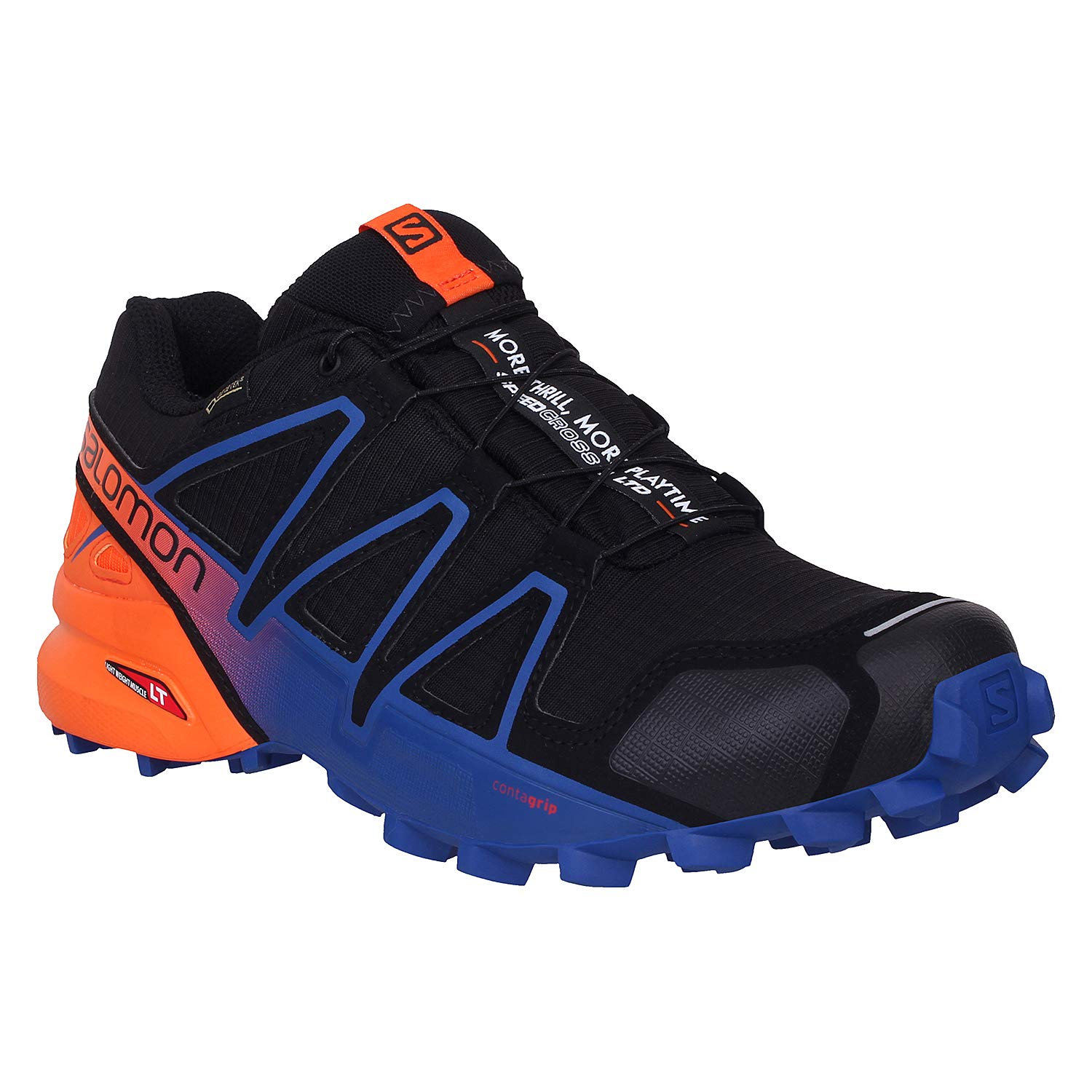 Jugar con Pantalones altavoz  Salomon Black L40177400 Speedcross 4 Limited Edition Men's Trail Running  Shoes - 7 UK: Amazon.in: Sports, Fitness & Outdoors
