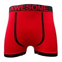 Get The Trend 3 Pairs Mens Seamless Boxer Shorts Trunks Briefs Adults Designer Boxers S-XL