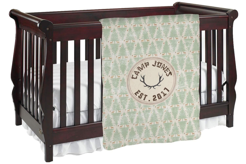 Deer Baby Blanket ( Personalized ) Deer Baby Baby Blanket Personalized ブラック mi-baby-blanket-fb+1023251 両面 B0764KXJFJ, マナツルマチ:723eeb8e --- ijpba.info
