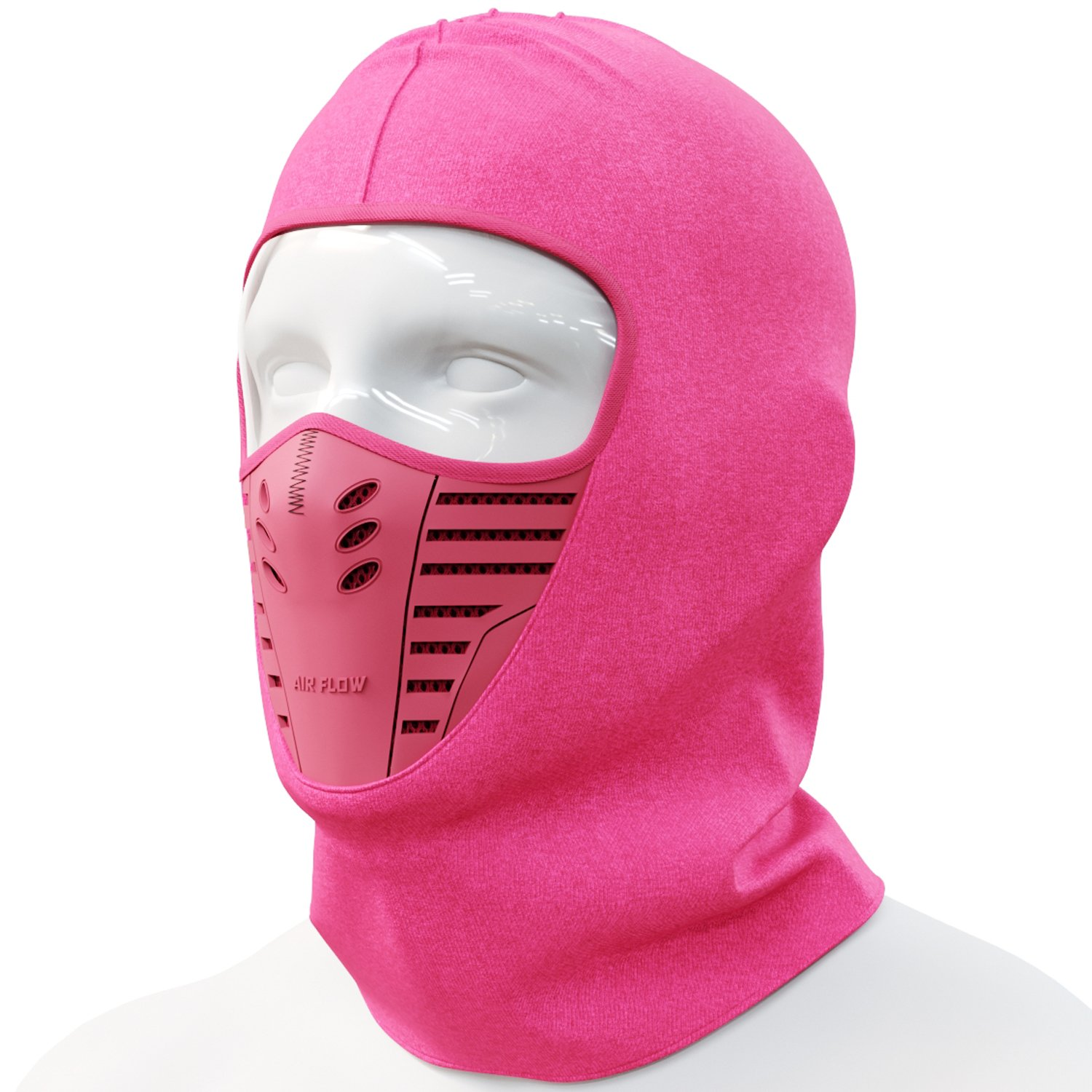 Cevillo Balaclava Face Mask | Wind Resistant and Dustproof Ski Mask Hoodie Style | Skiing and Outdoor Sports | Polyester Cotton Headwear | Men and Women