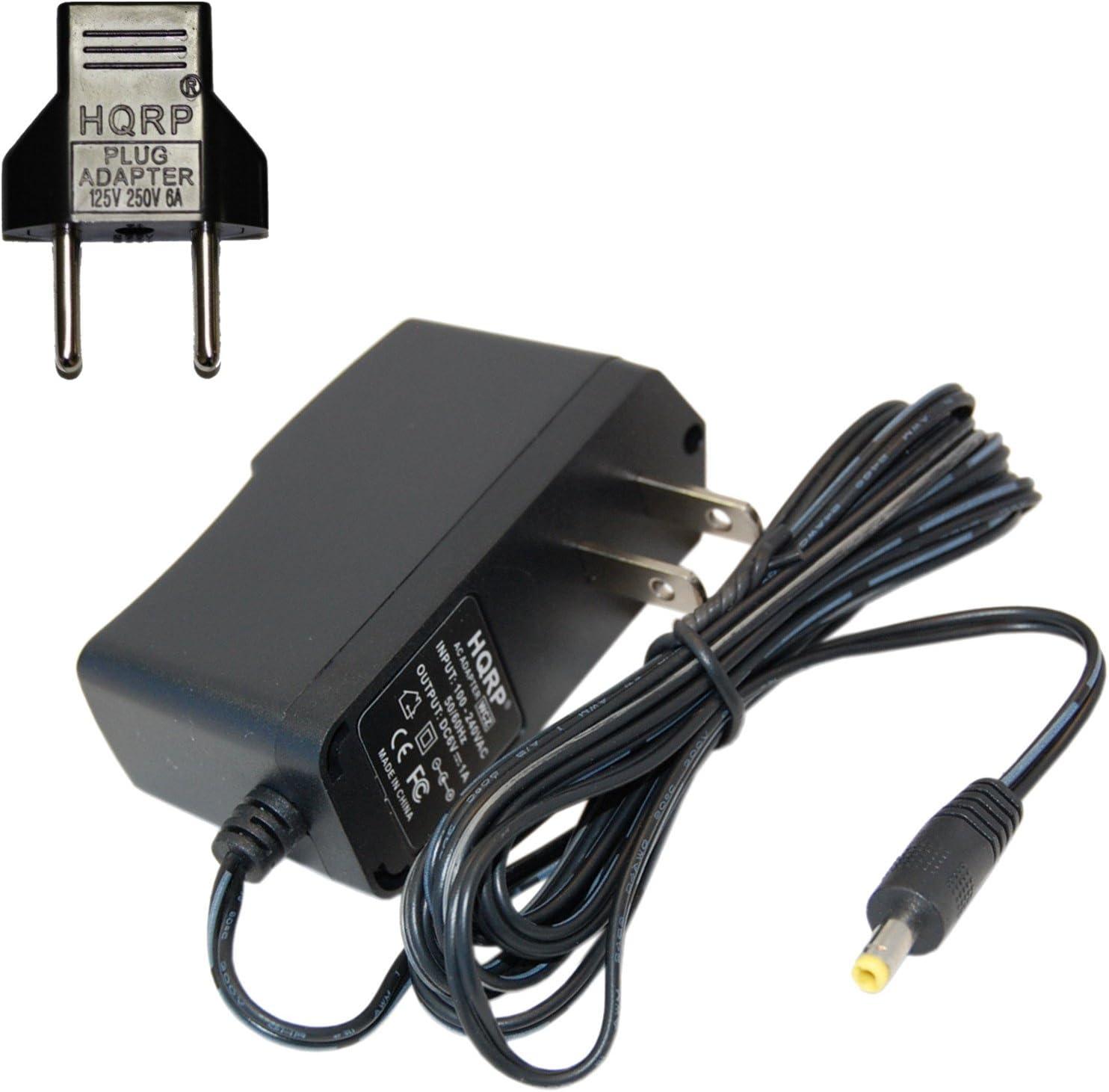 HQRP Adaptador de CA para Omron M2, M3, M3W/HEM-7202-E (V), M6Comfort/HEM-7223-E, M6W/HEM-7213-E, M10-IT/HEM-7080IT-E Control de la tensión Arterial
