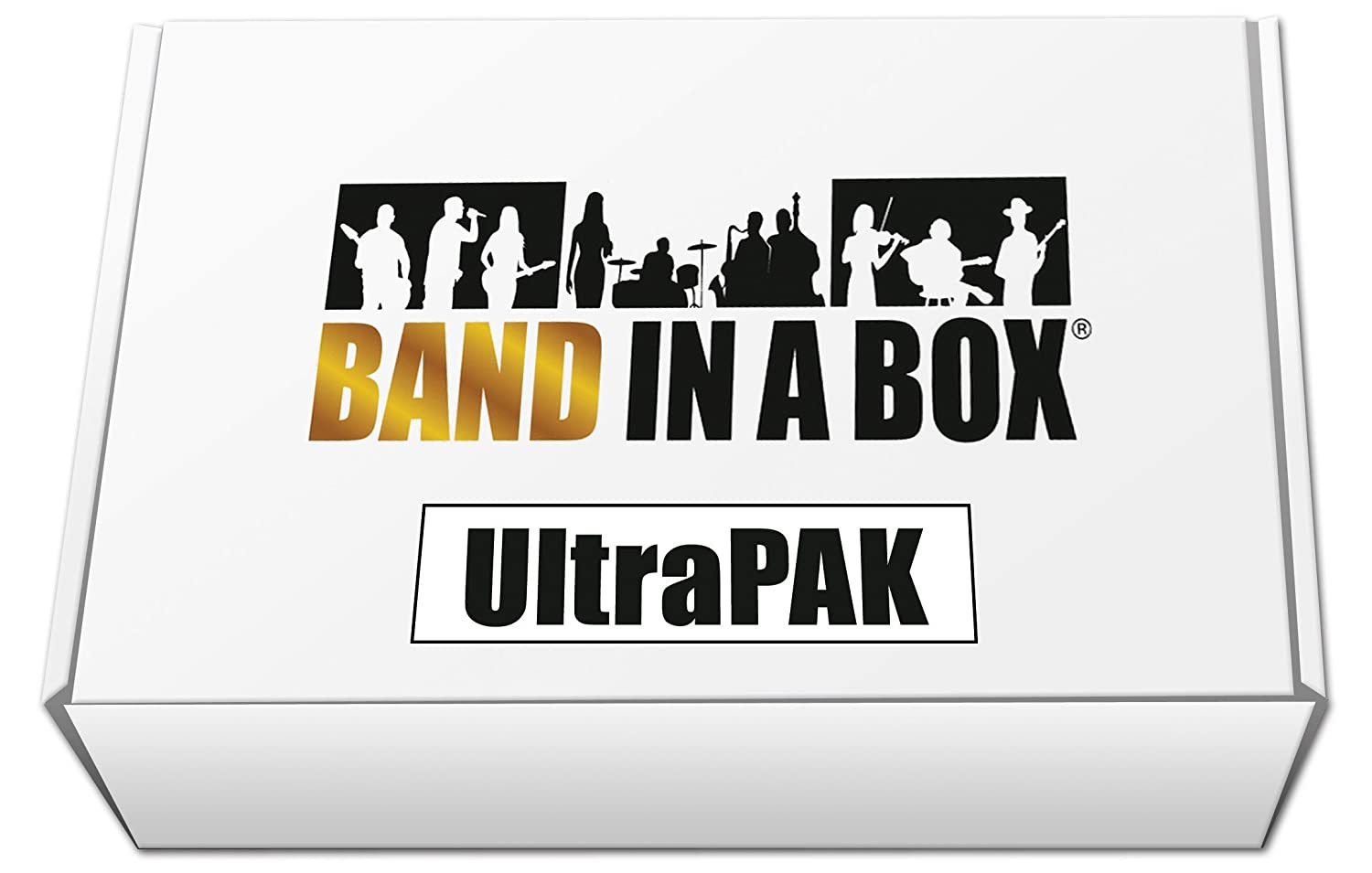 front facing Band-in-a-Box 2019 UltraPAK