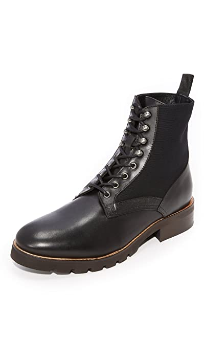 H by Hudson Black Elmore Boots
